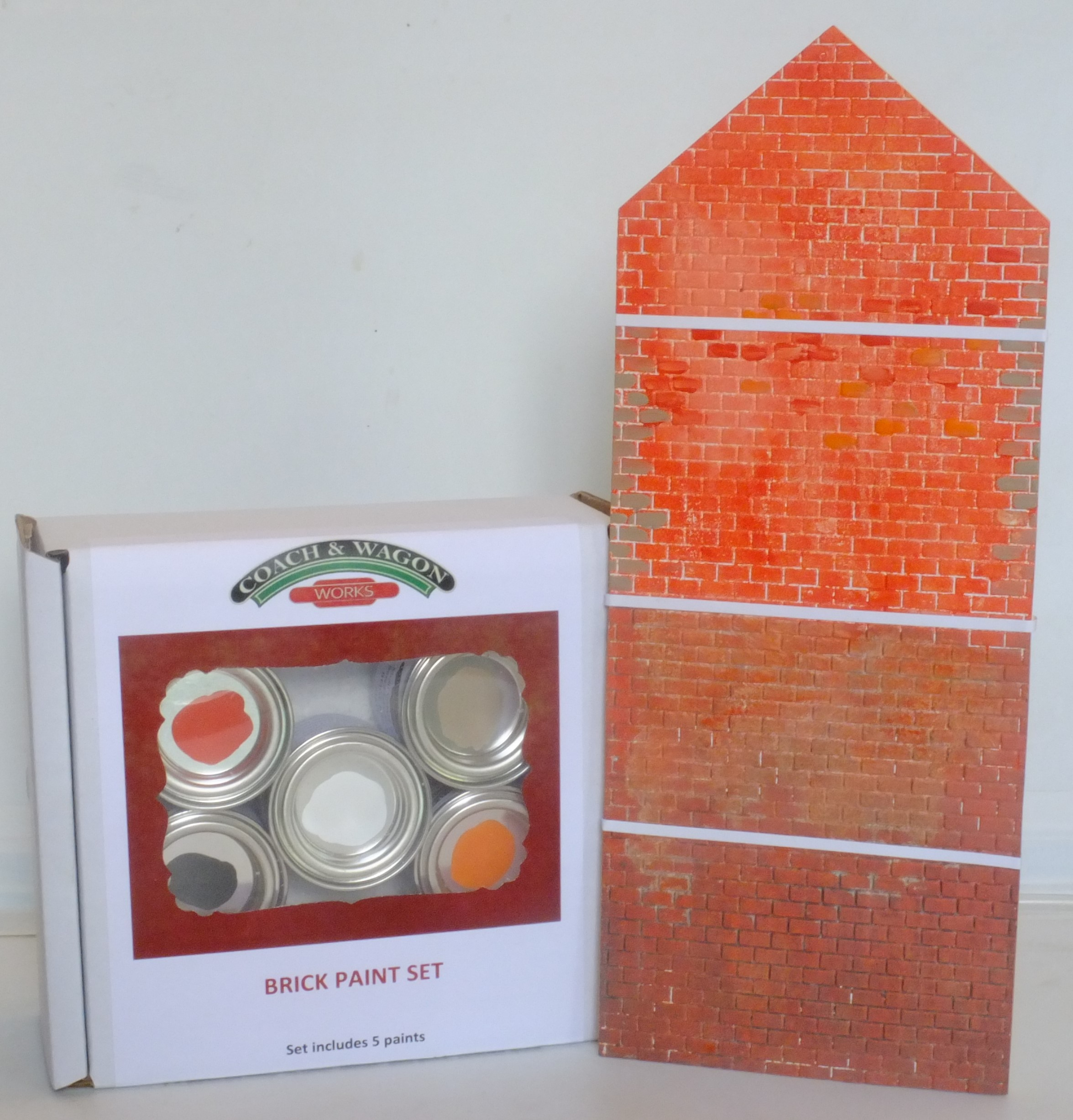 Builders Yard Paint small picture 2 Brick set