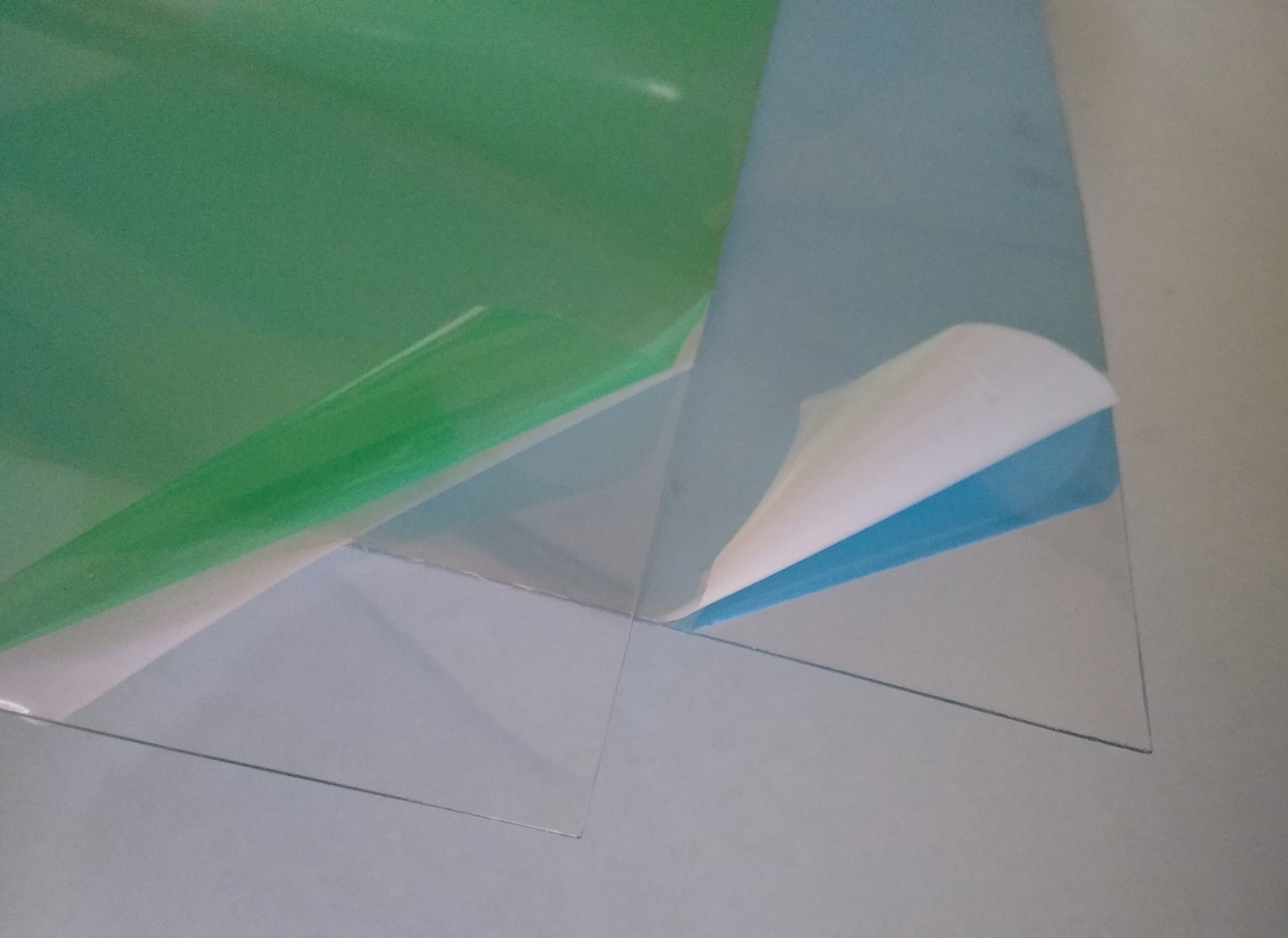 Builders Yard Sundries Clear Plastic PETG 0.6 and 1mm