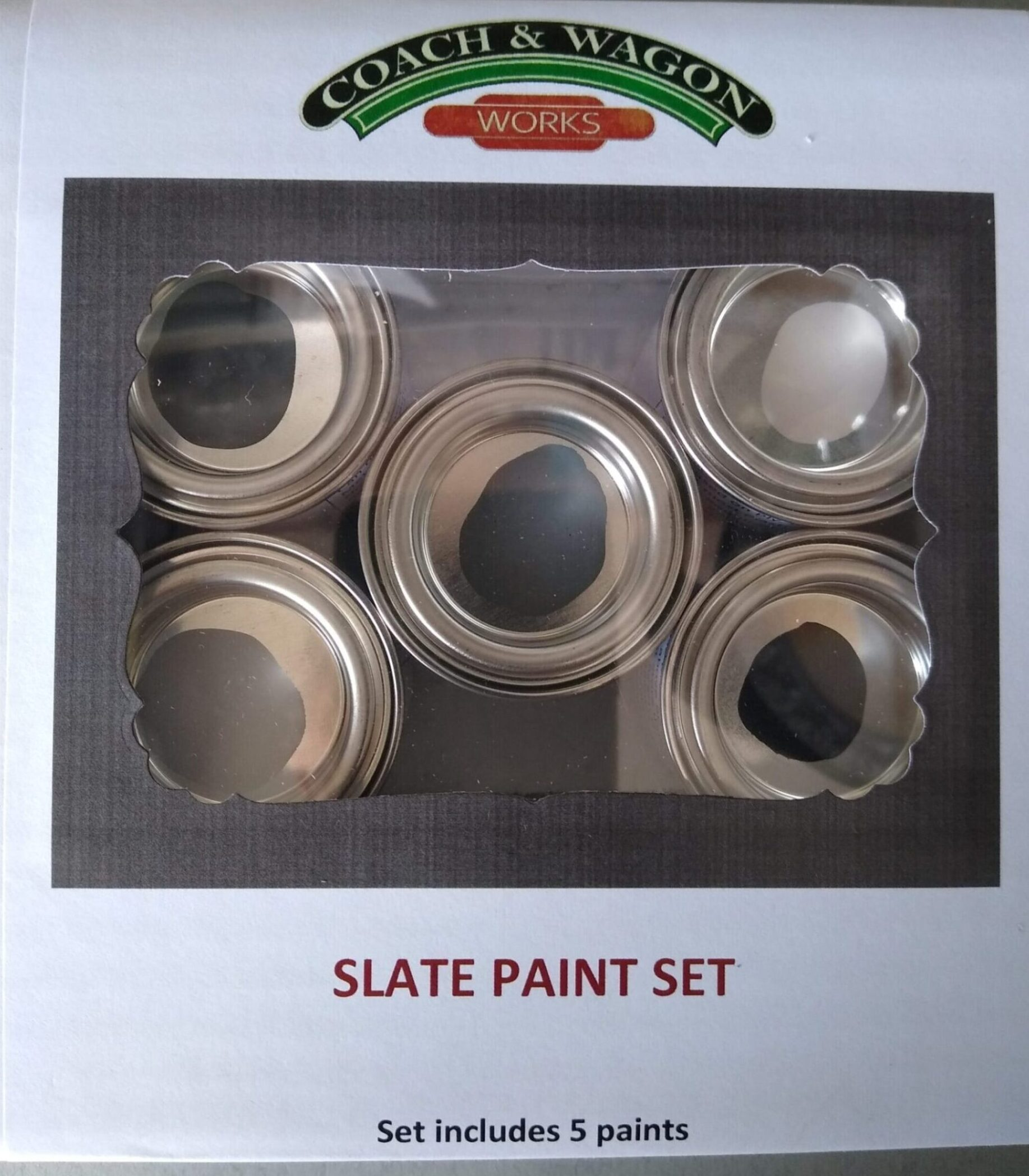 Builders Yard paint Box Slate paint set