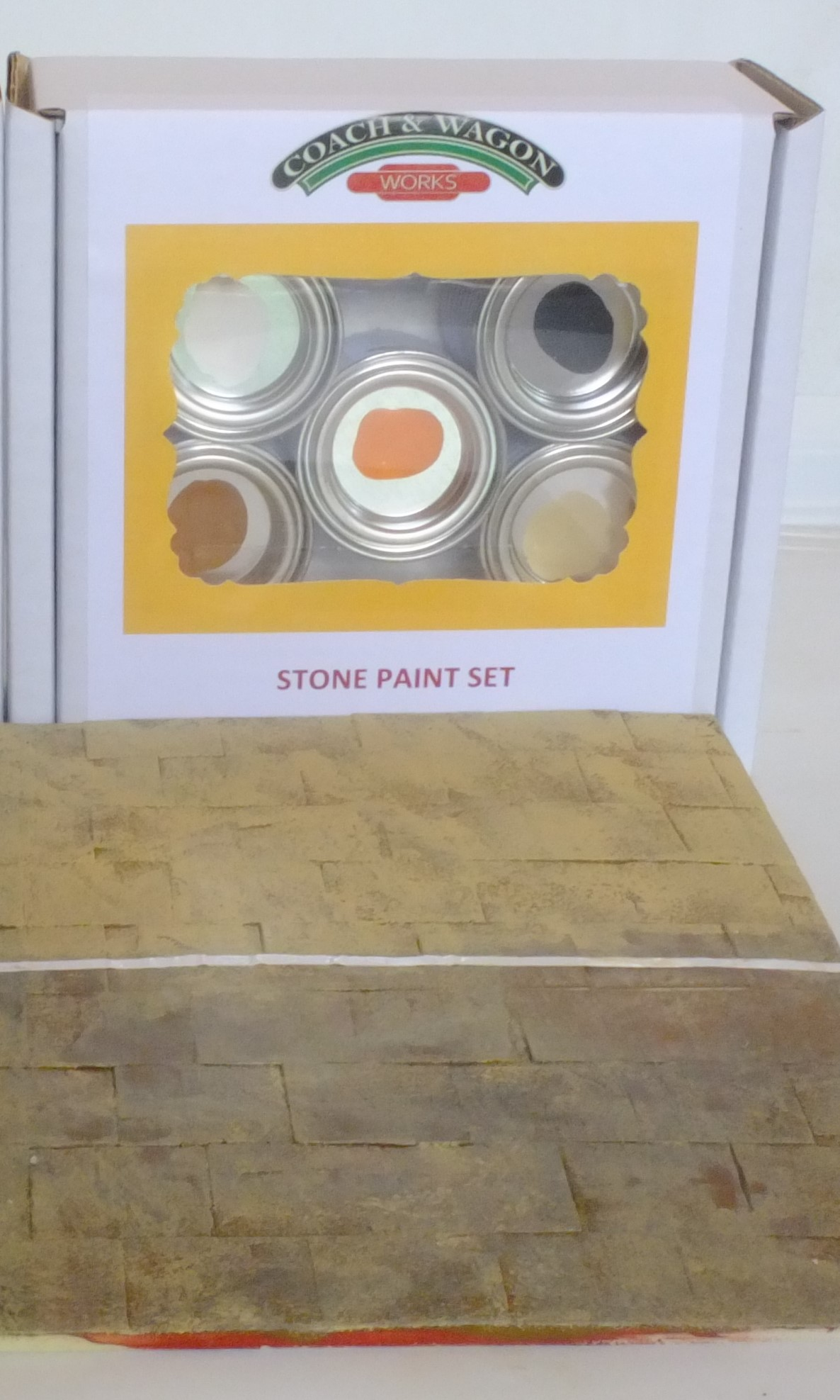 Builders yard paint small picture 2 stone set