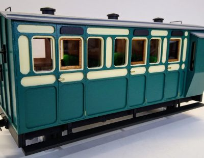 Rolling Stock Classic Freelance Green and Cream Coach guards van