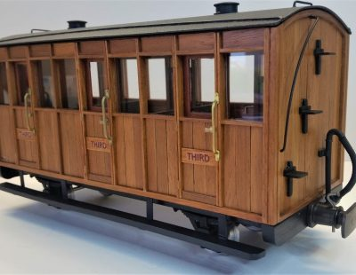 Rolling Stock Teak Freelance Teak Freelance 3 compartment