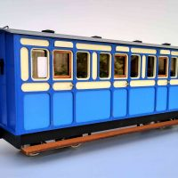 Rolling Stock First Class Freelance 4 compartment Bogie Coach